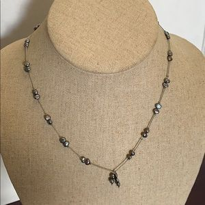 Jewelry - Necklace authentic perls and sterling ❤️